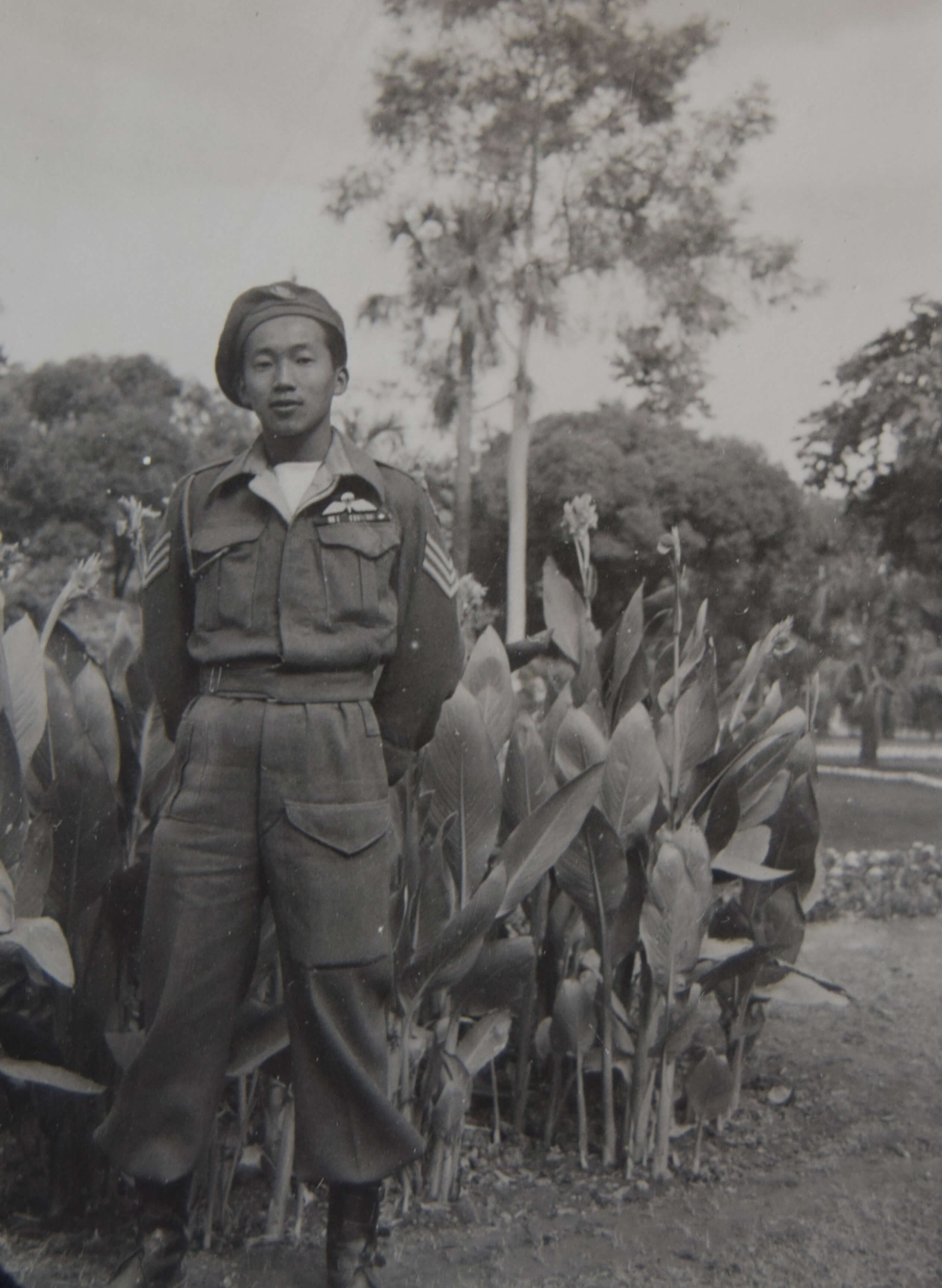 Henry Fung in Southeast Asia in 1945.