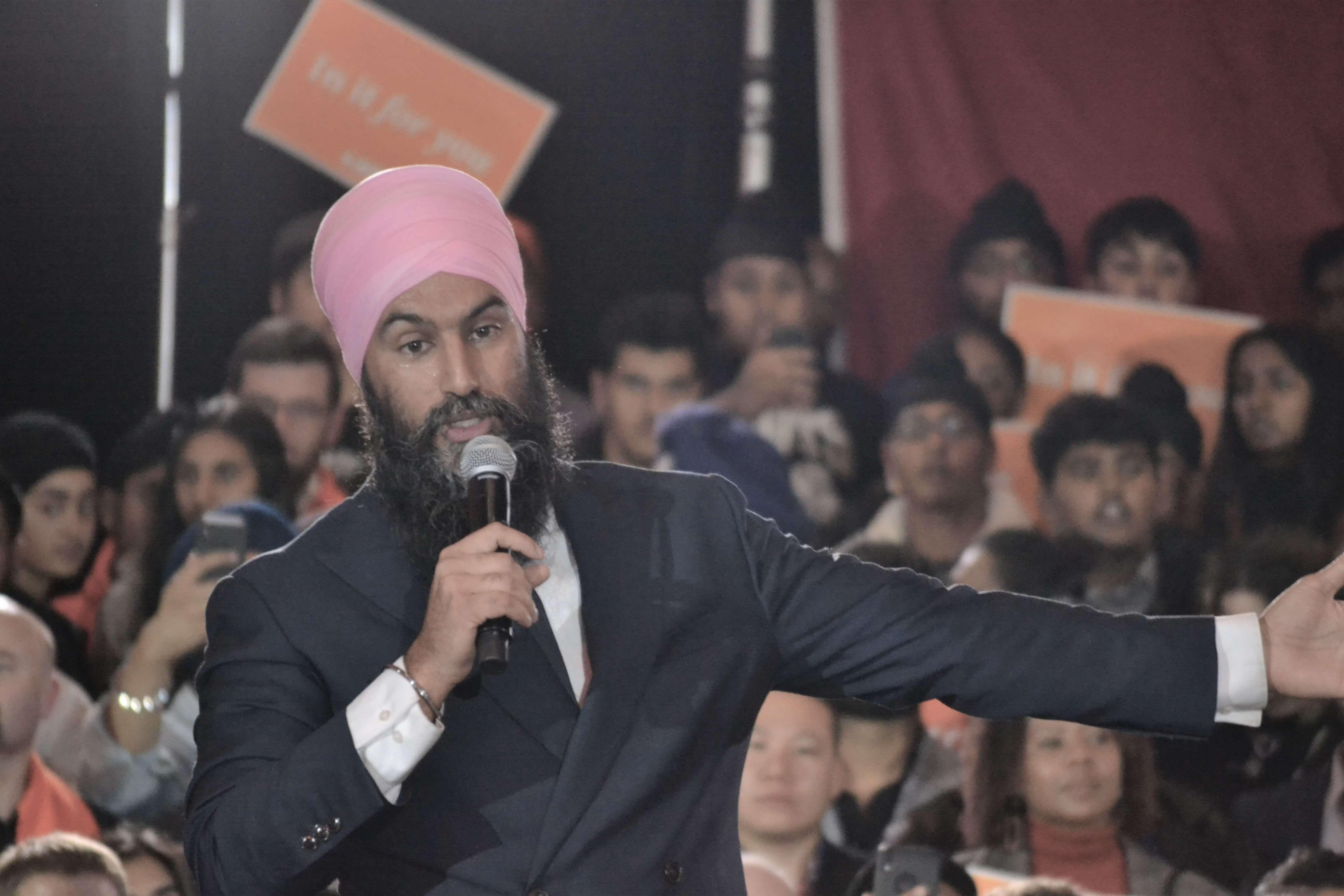 Jagmeet Singh's Final Push to Win