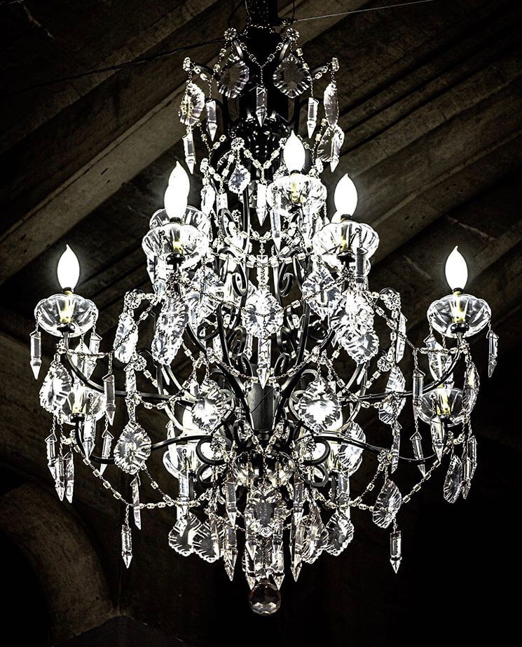 The presence of this 4.8 million dollar chandelier has been called disruptive and insulting to the more than 2,000 homeless people who live in Vancouver.