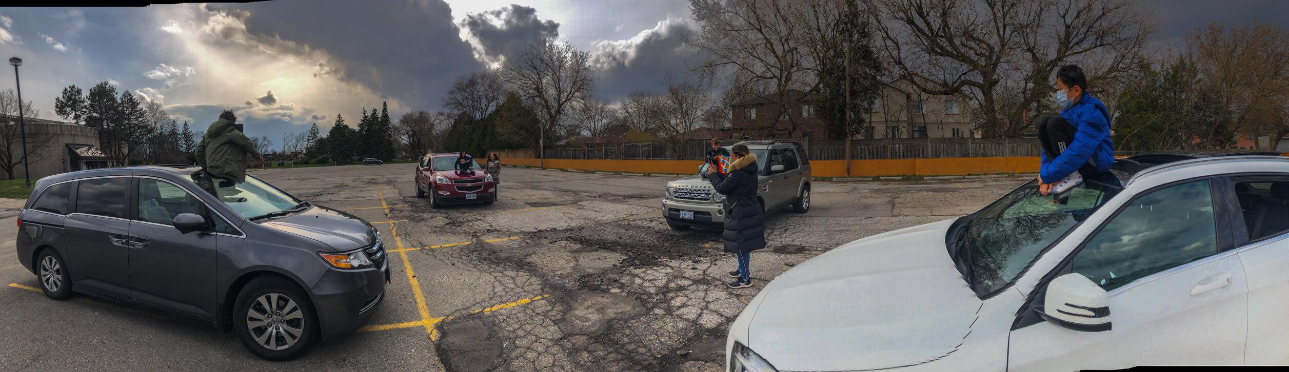 birthday parking lot