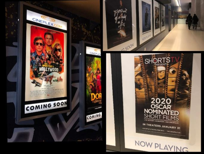 cinema and theater posters during the coronavirus / covid-19 times