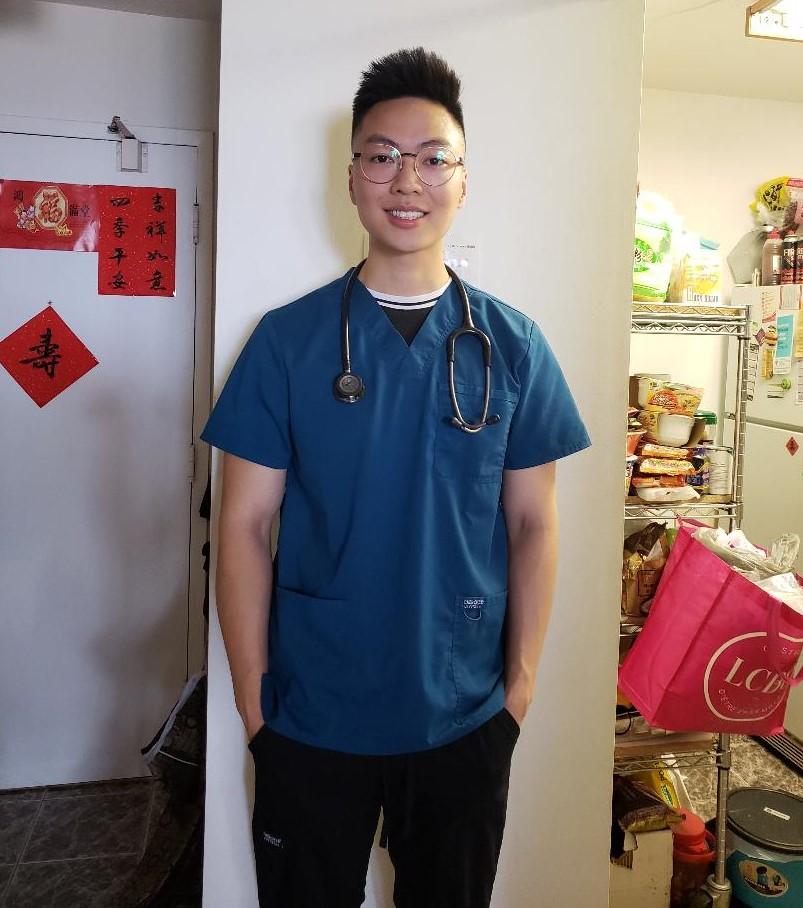 nurse Ricky Cheng