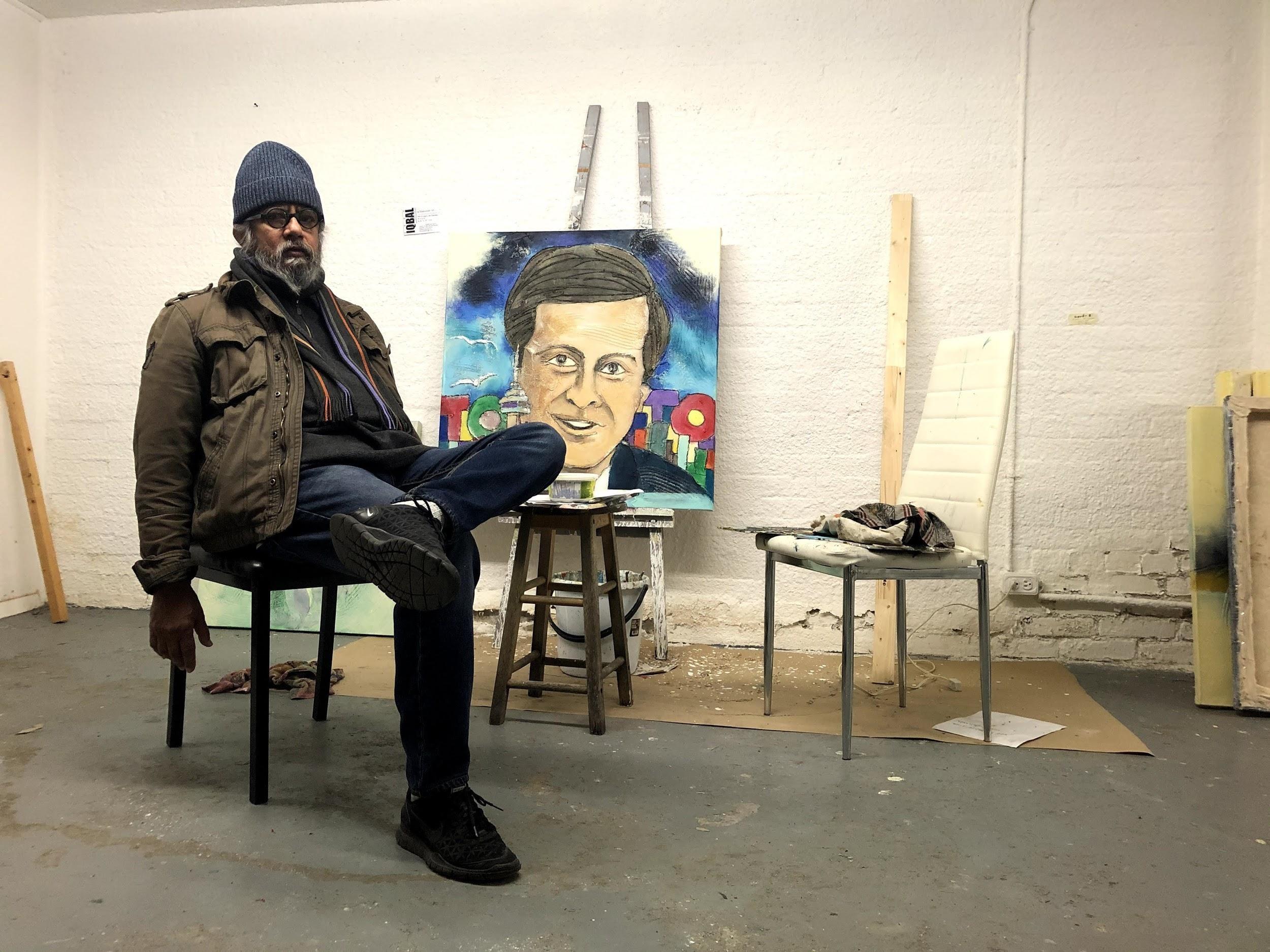 immigrant artist syed iqbal