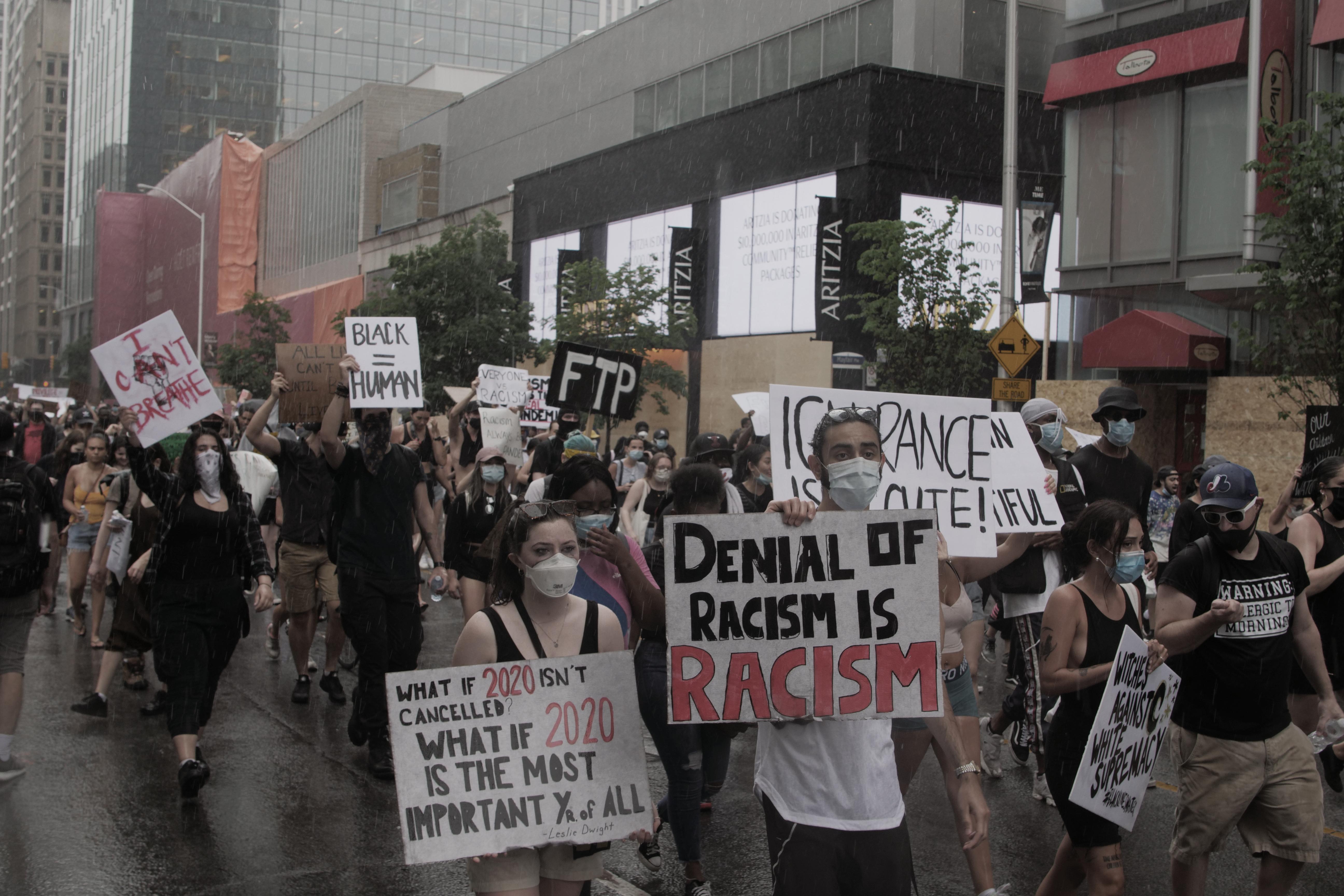 Toronto, BLM, protest,