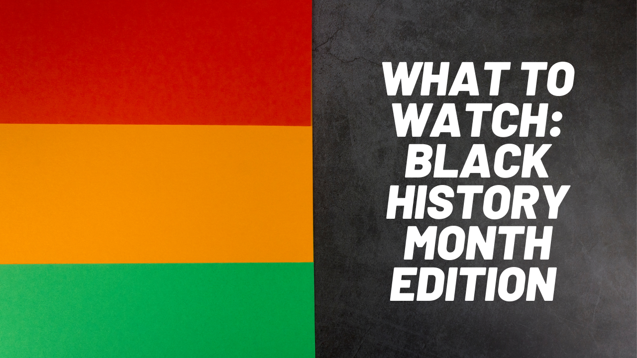 What to Watch Black History Month Edition