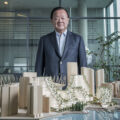 vancouver, property, Photo of Oei Hong Leong with an architectural model