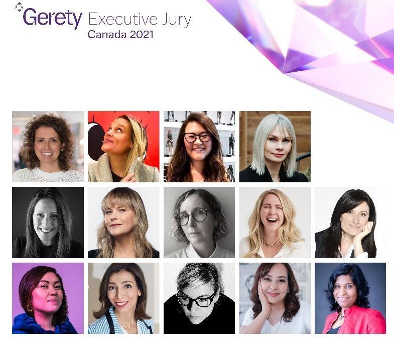 Gerety award panel representation