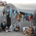 A Syrian teenager in a refugee camp in Turkey (EU Civil Protection and Humanitarian Aid)
