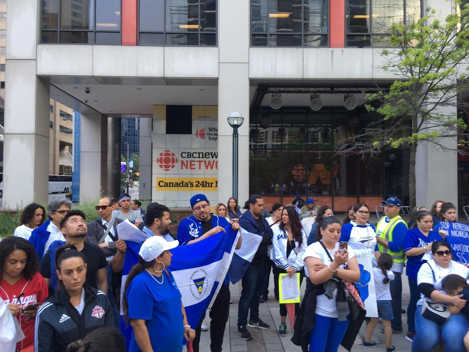 Demanding more coverage of Nicaraguan repression