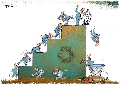 Cartoon by Mwafaq Katt