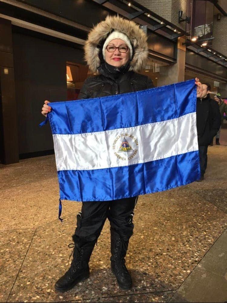 Demonstrator mobilizes diaspora