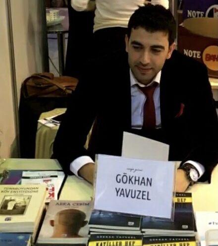 Photo of Gökhan Yavuzel, a Kurdish writer whose name appeared on the hit list.
