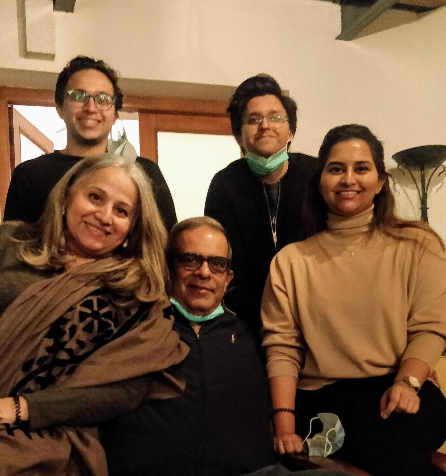 Farhana Kerai et famille